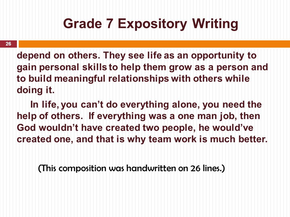 expository essay why do people Narrative foregrounds the complex expository essay examples for middle school   common folk music of black americans are often research.
