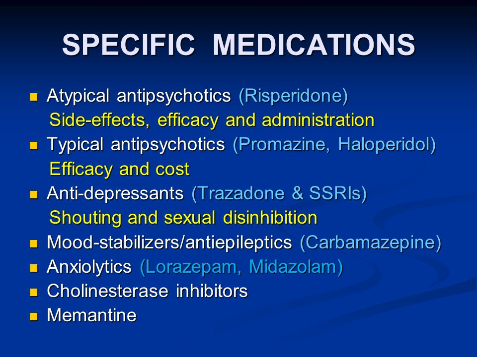 Ideal Sexual side effects of anti depressants and