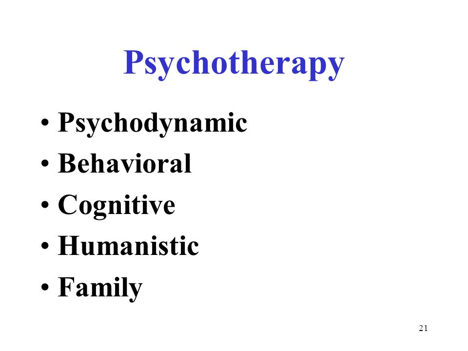 psychodynamic family therapy Family: because family is a key part of the team that helps people with mental illness get better psychodynamic therapy is based on the assumption that a person is having emotional problems because of unresolved, generally unconscious conflicts.