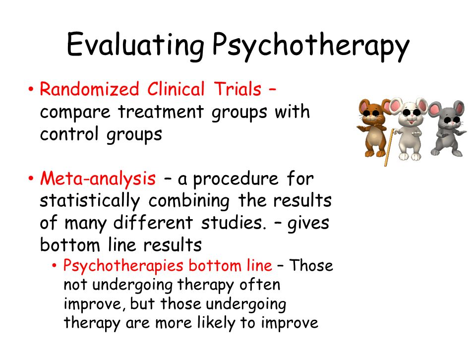 Group Therapy vs. Individual Therapy