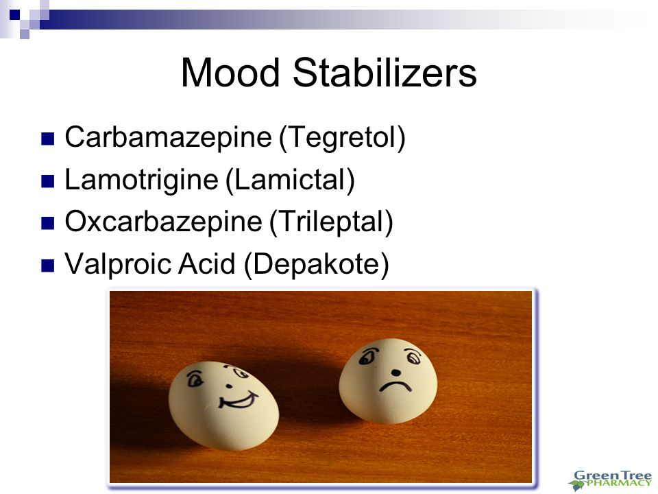 Trileptal Mood Stabilizer Dosage