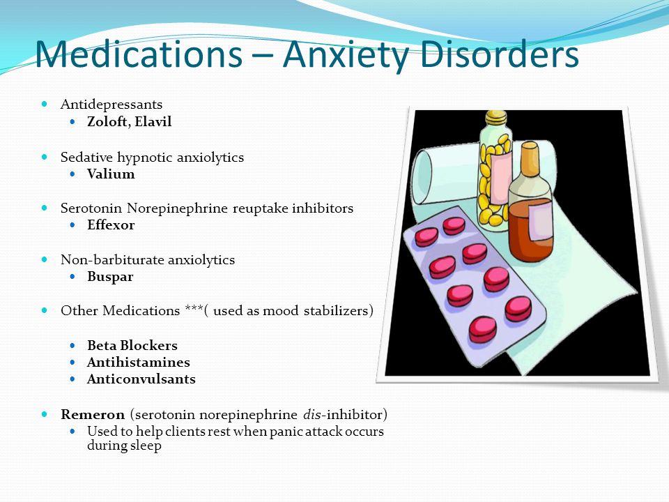 Panic Attacks Medication Buspar