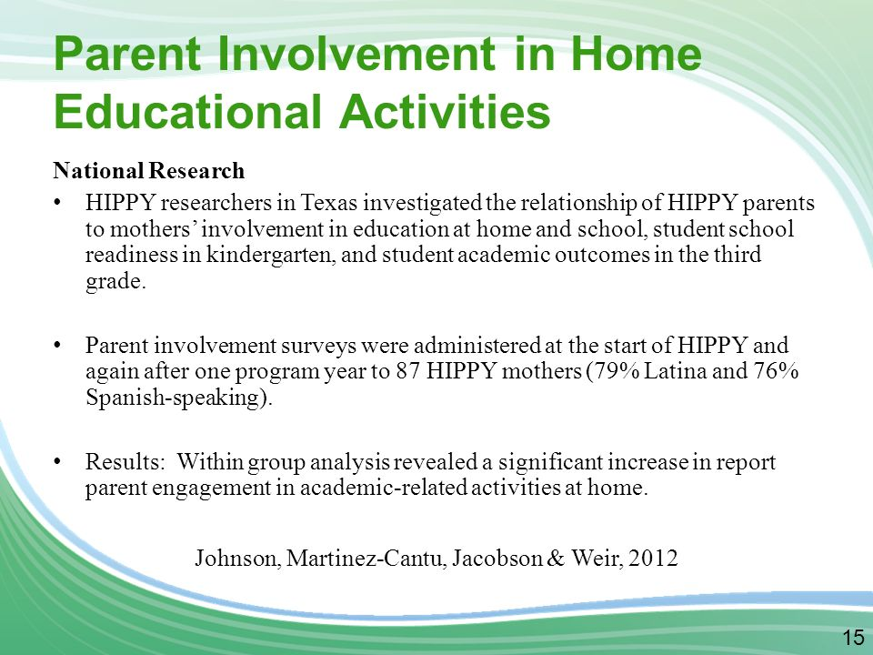 Classroom Parent Involvement Ideas : Parent involvement works ppt video online download