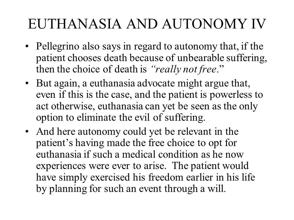 euthanasia through history and today Euthanasia or physician-assisted suicide is when action is history one argument against euthanasia or physician-assisted medical news today.