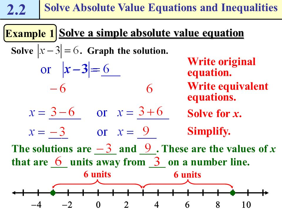 Absolute Value Inequality Worksheets