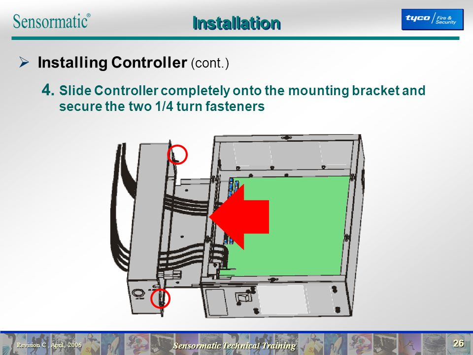 Installation+Installing+Controller+%28cont.%29 electronic article surveillance ultra\u2022max acousto magnetic sensormatic wiring diagram at readyjetset.co