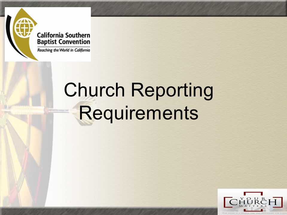 what statement should a church provide to meet irs regulations