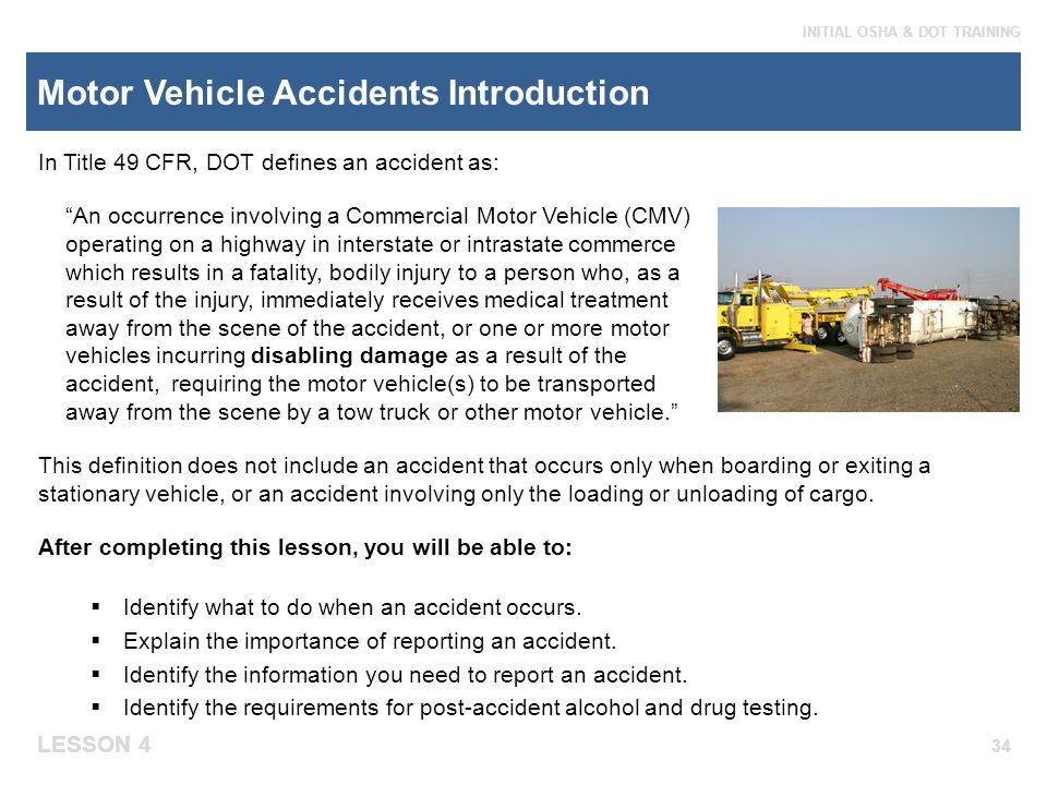 Module 4 emergency response ppt video online download for Commercial motor vehicle definition