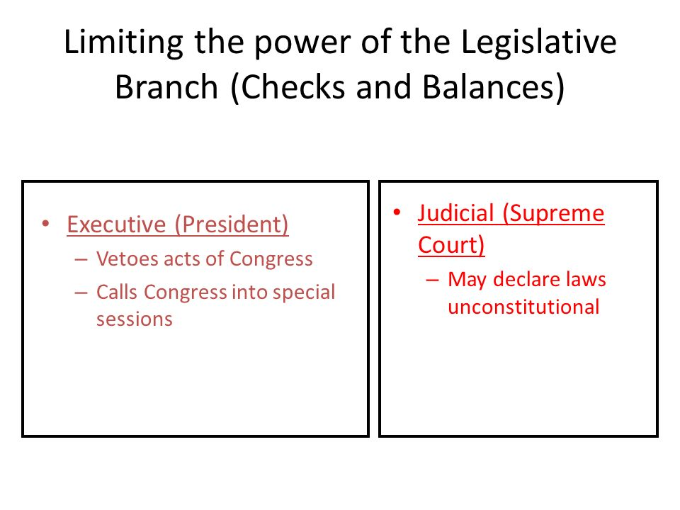 checks and balances of the legislative American legislative  checks and balances in government amendment  to protect the people's freedom and to preserve the checks and balances of the.