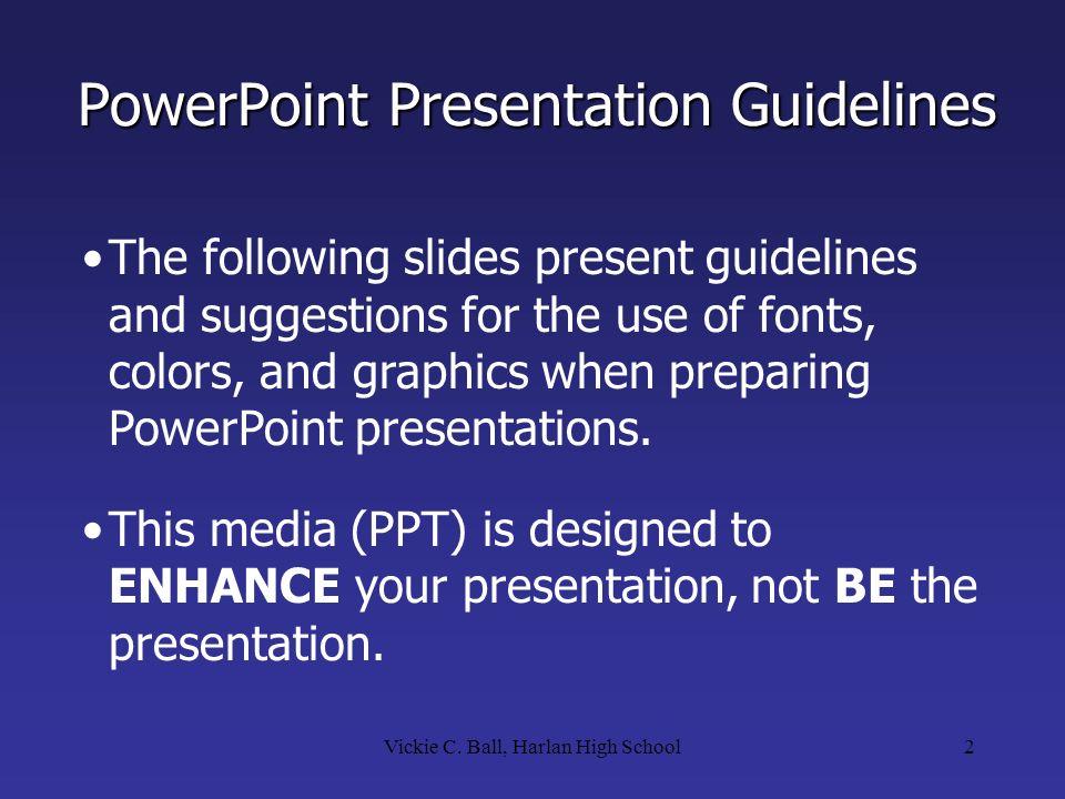 ppt presentation rules