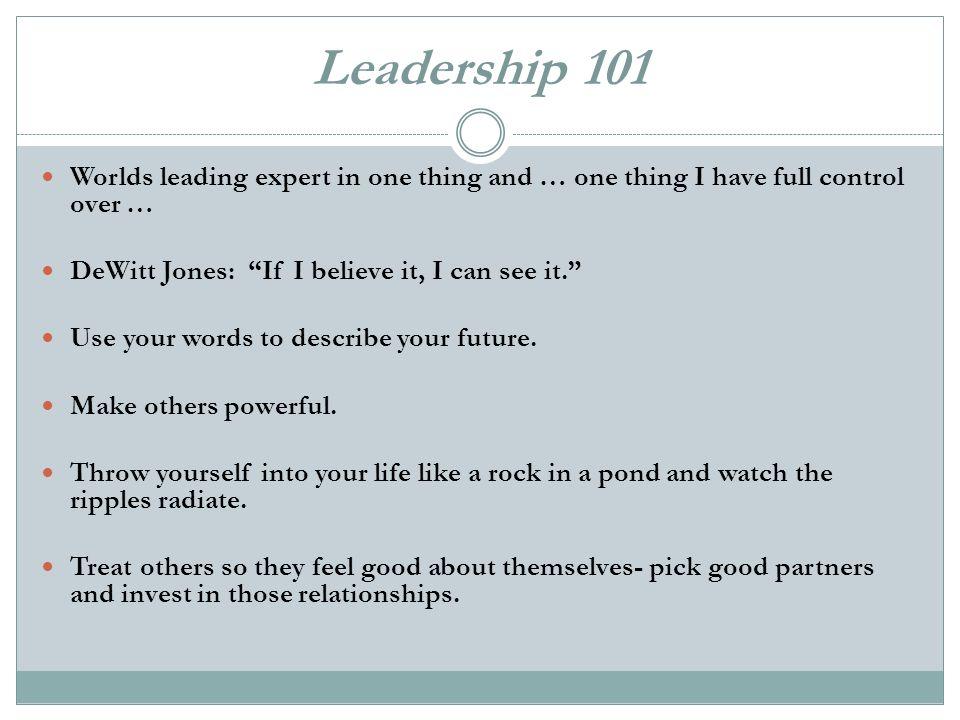 words that describe leadership
