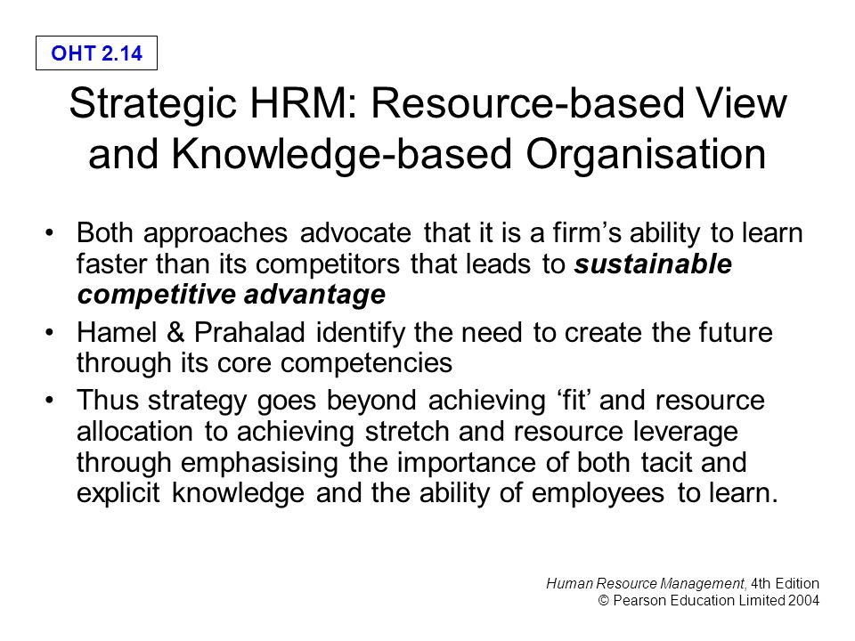 the importance of strategic human resource management in ravi behls organization Positive aspects of roles and functions of the human resource department recruitment of employees and know more about hr management.