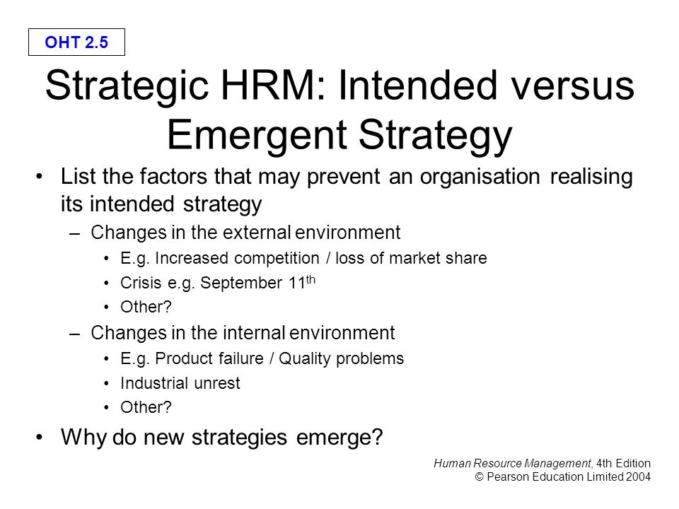 what is strategic hrm pdf