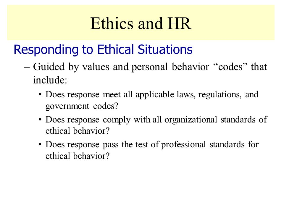 professional standards and codes of ethics ♦ encourage colleagues to embrace and practice these ethical principles and standards and ♦ be aware of the codes of ethics promulgated by other professional.