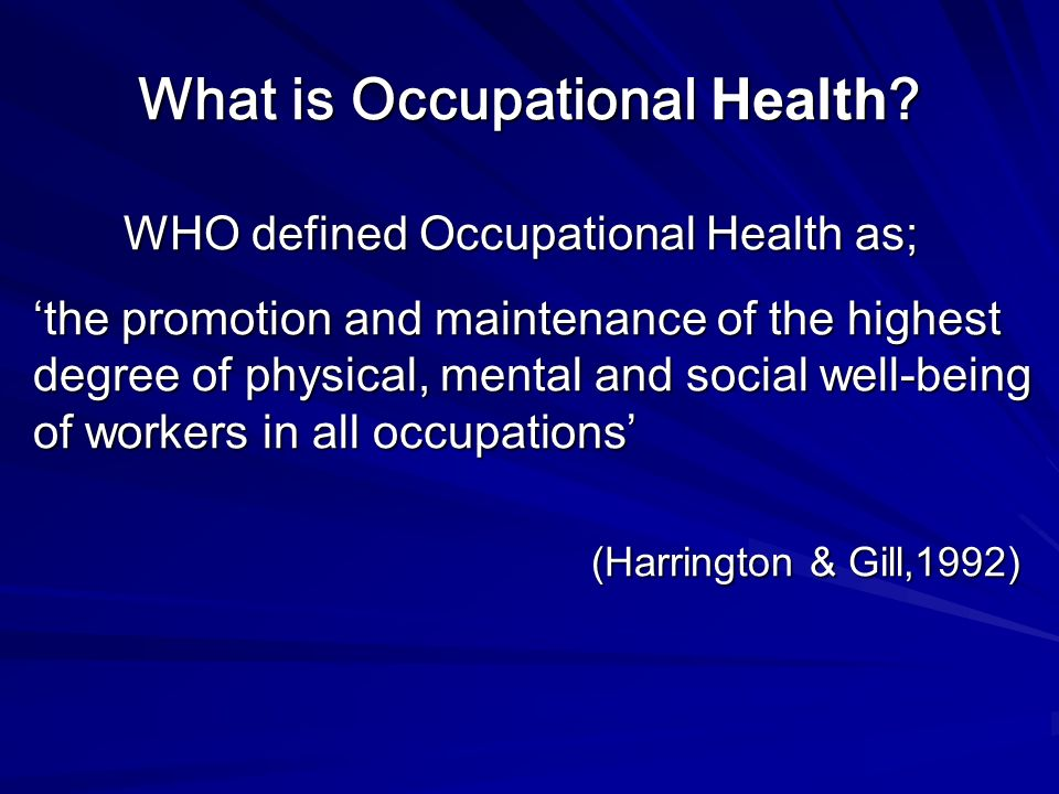 an analysis of the health and well being of workers Well-being of home care patients importantly, an unsafe household can adversely affect not only the patient, but also home health care providers and household caregivers.