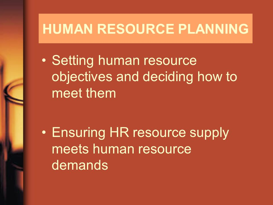 Human Resource Planning  Ppt Video Online Download