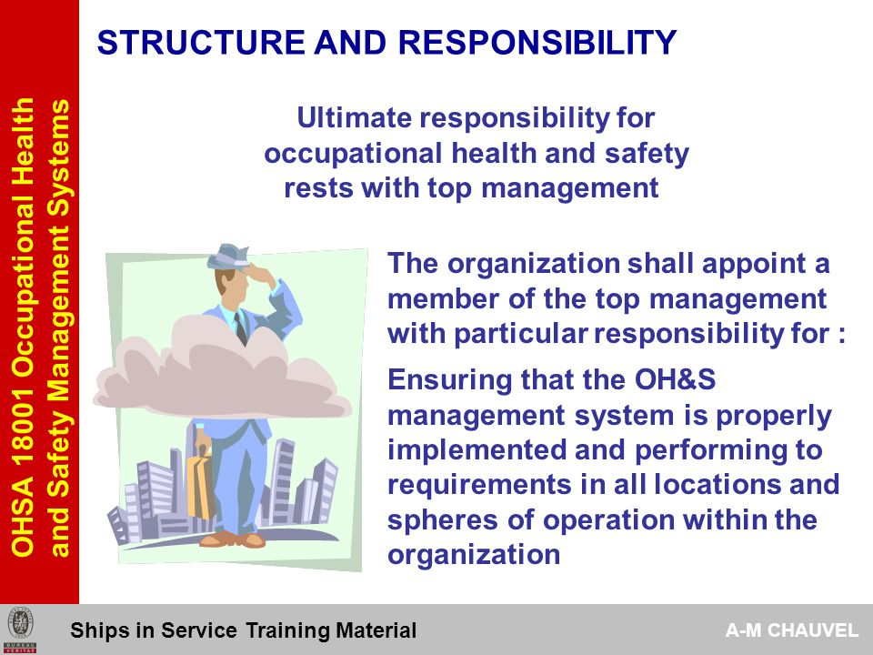 STRUCTURE AND RESPONSIBILITY