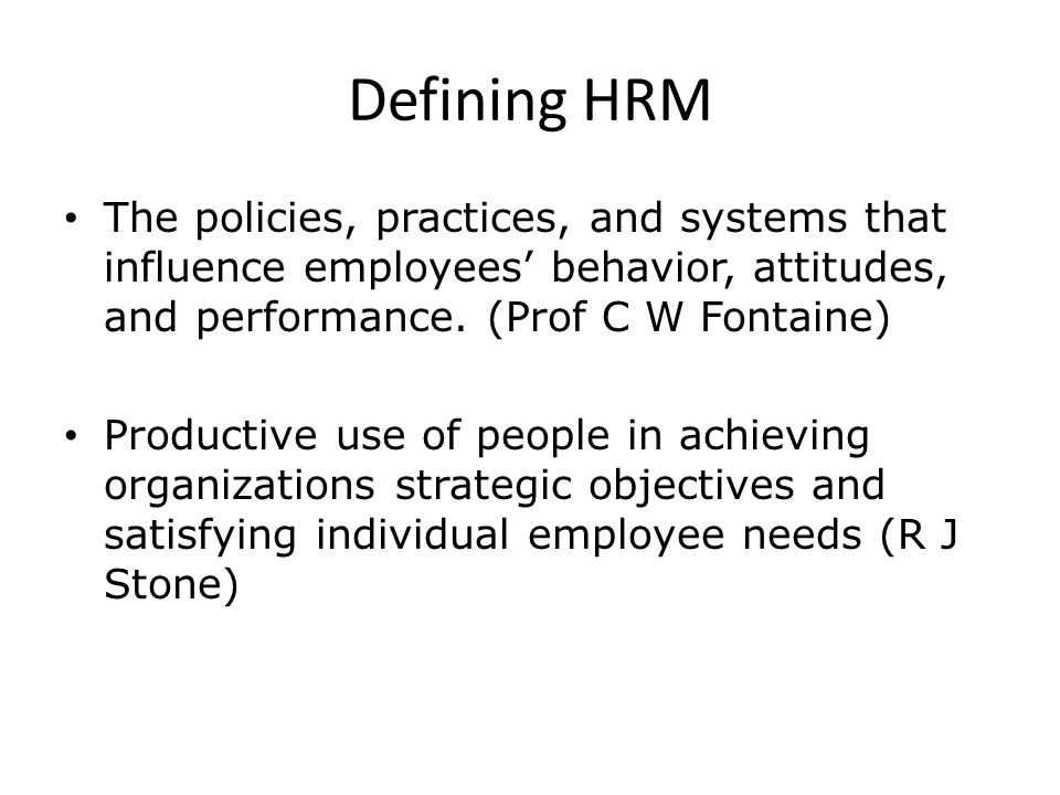hrm practices and employee performance The analysis indicates that the relationship between training and firm performance may be mediated by employee knowledge a literature review, research and practice in human resource team are associated with higher firm performance human resource management.