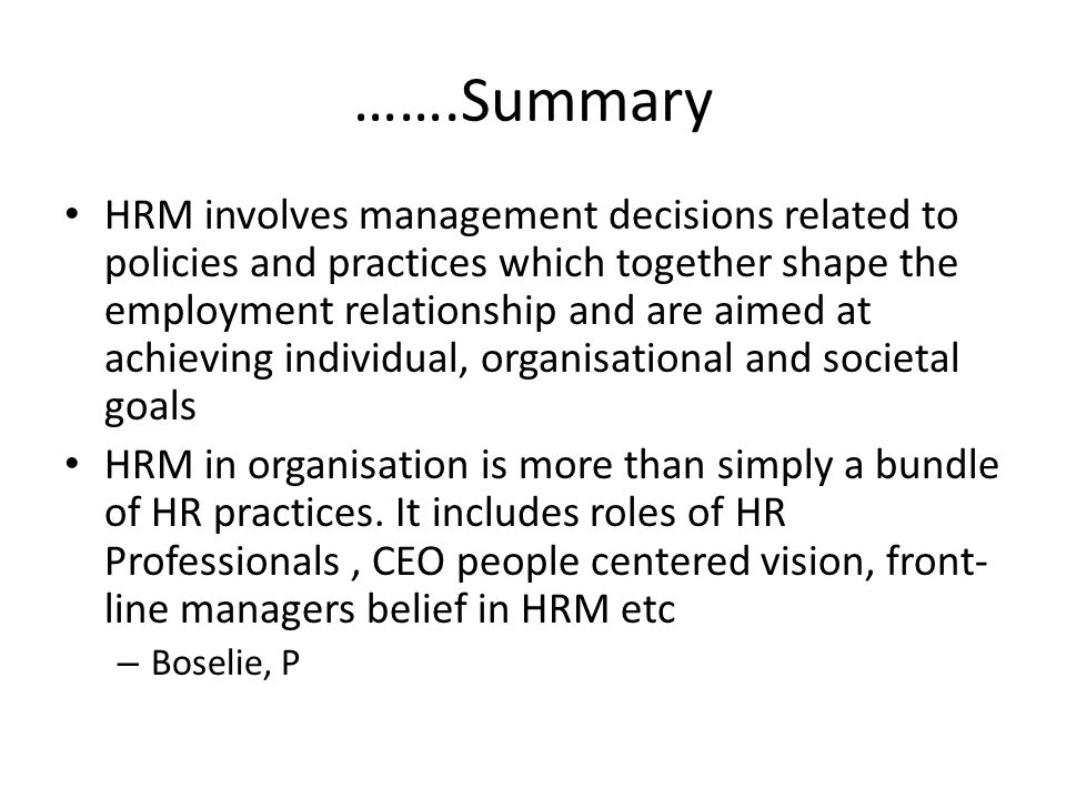 Human Resource Management of iRobot