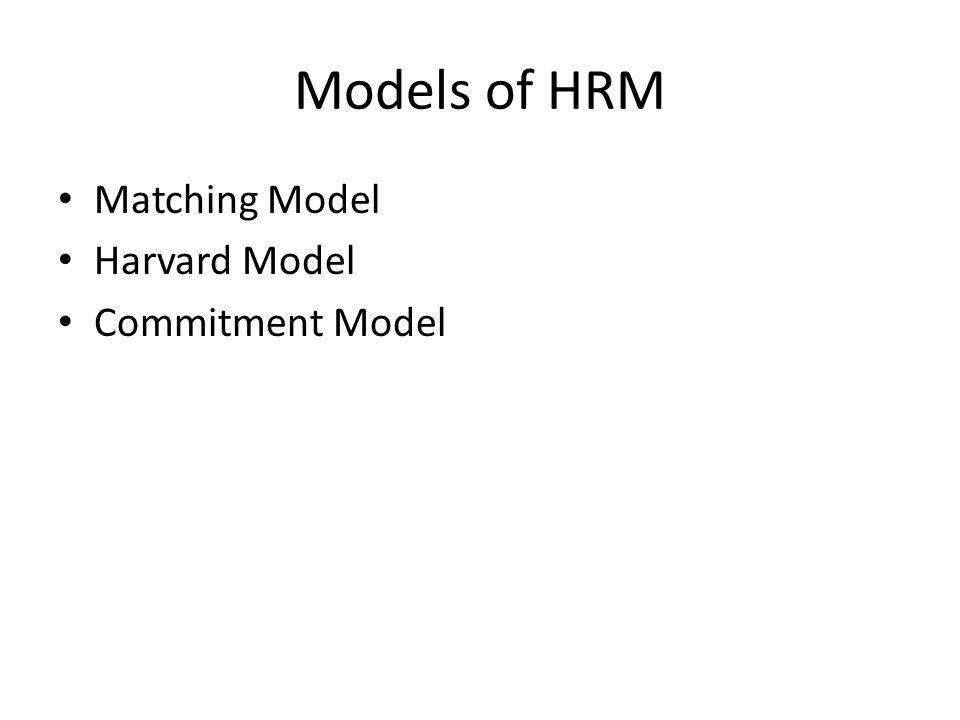 harvard model of hrm pdf