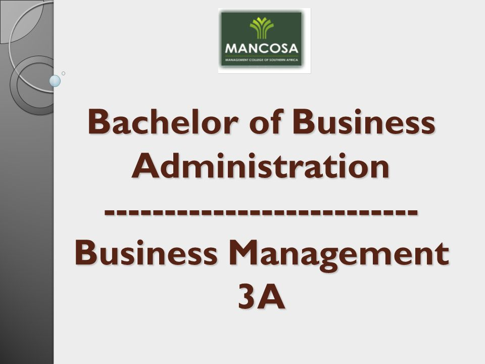 bachelor in business administration The online bachelor of science in business administration provides an excellent opportunity for students to build a foundation of business knowledge that applies across organizations of any size or scope.