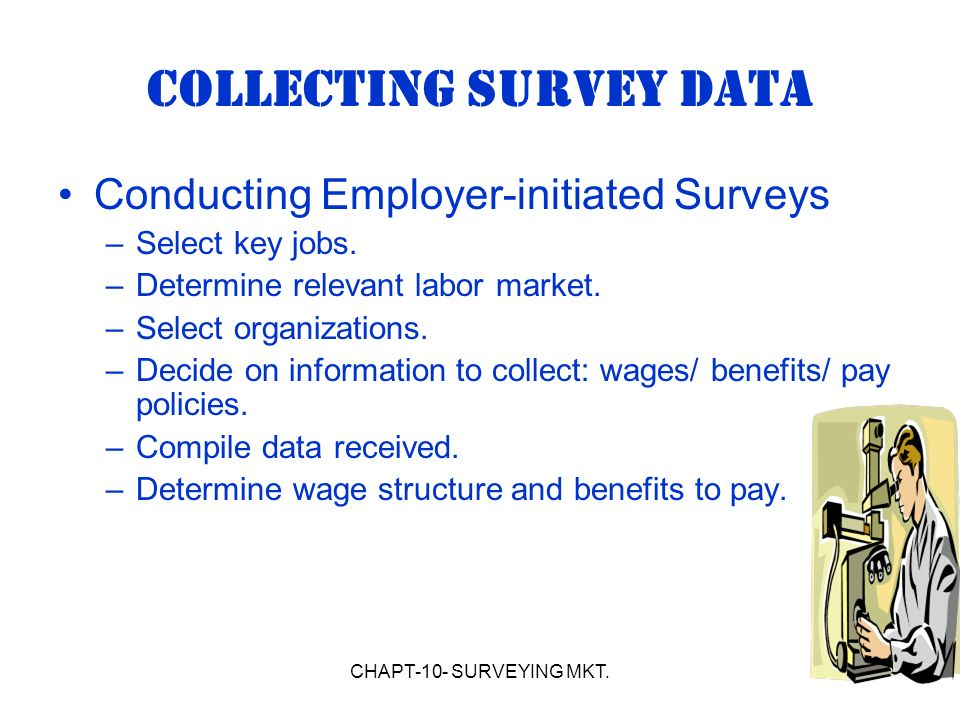 surveying data