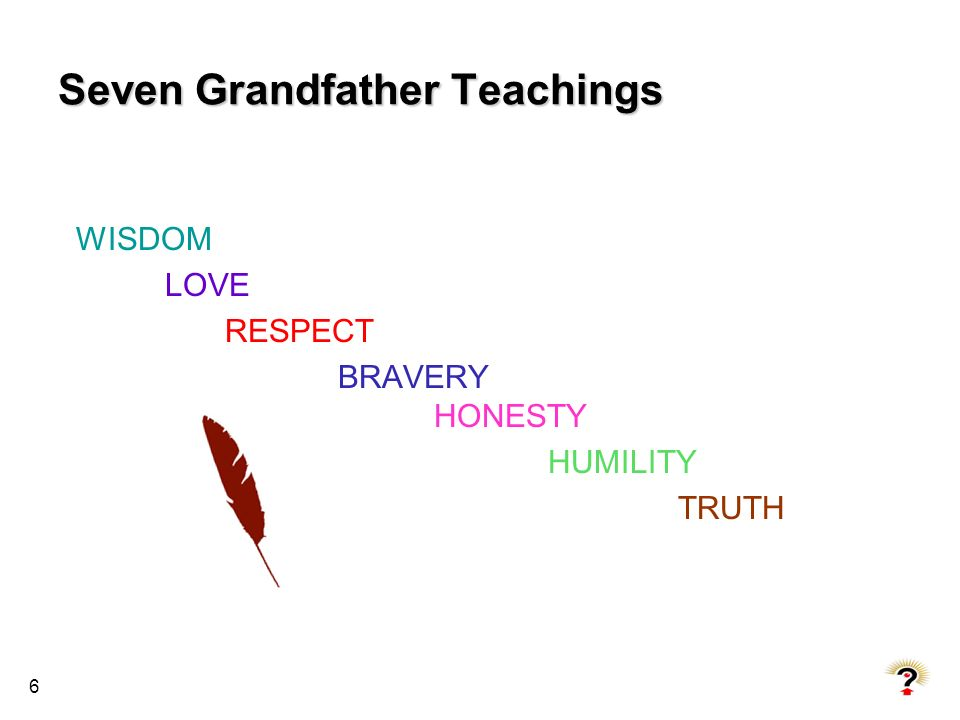 Seven Grandfather Teachings