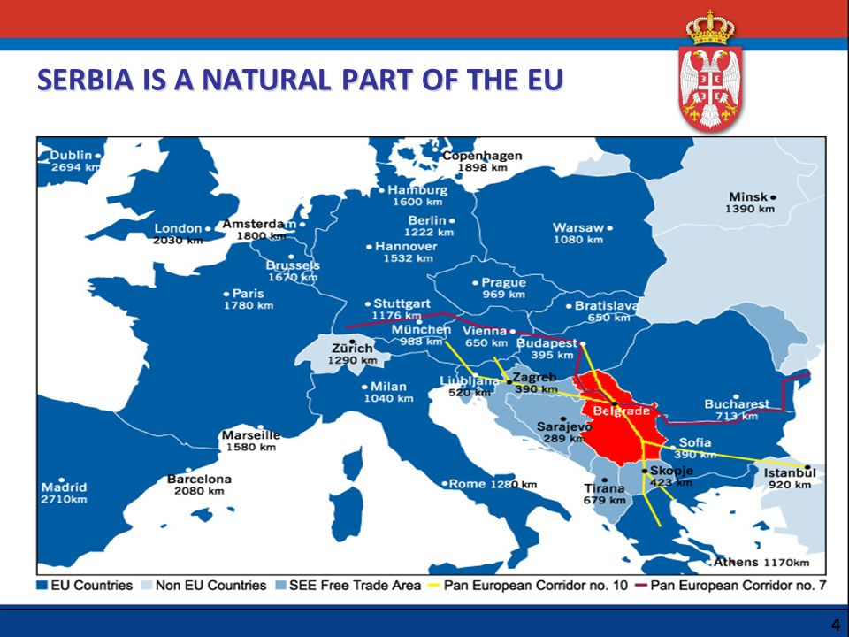 SERBIA IS A NATURAL PART OF THE EU
