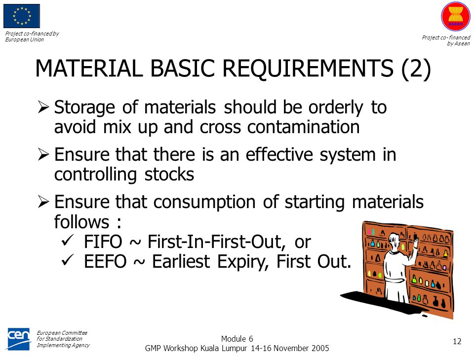MATERIAL BASIC REQUIREMENTS (2)