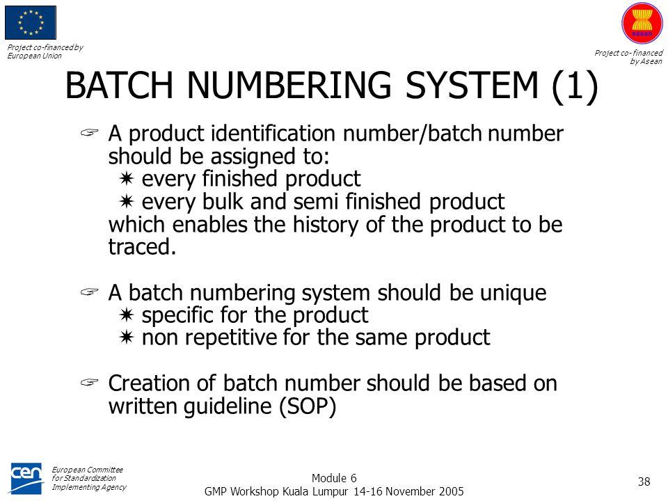 BATCH NUMBERING SYSTEM (1)