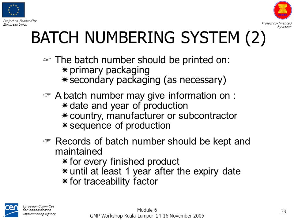 BATCH NUMBERING SYSTEM (2)