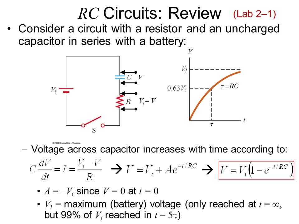 capacitance and rc circuits With some careful design and in appropriate capacitance ranges, traditional timer circuits may suffice for low capacitance values and high accuracy, other options such as integrator-based.