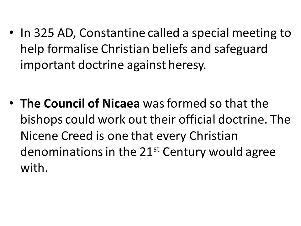 constantine and christianity as the state religion So obviously, constantine didnt name christianity as the offical religion romans had no notion of a state haveing an official religion, language, or anything else as for church and state, thats a complicated issue, one which would take many books to explain.