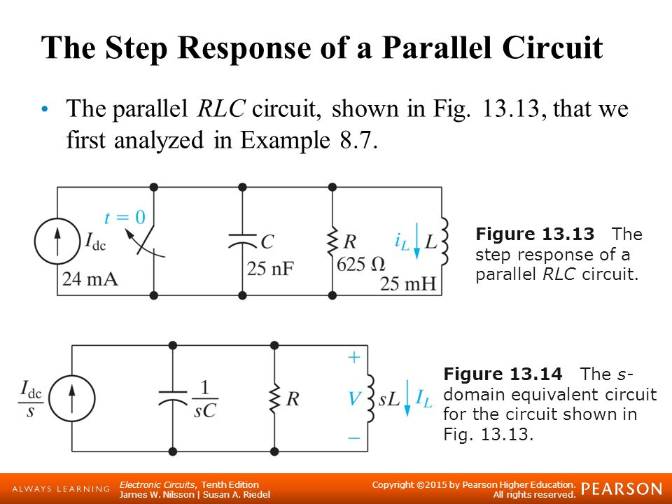 step response of inductor 28 images ece 201 circuit