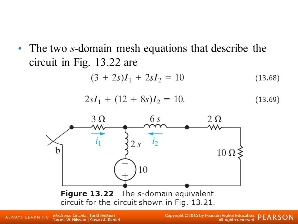 The Laplace Transform in Circuit Analysis - ppt video online download