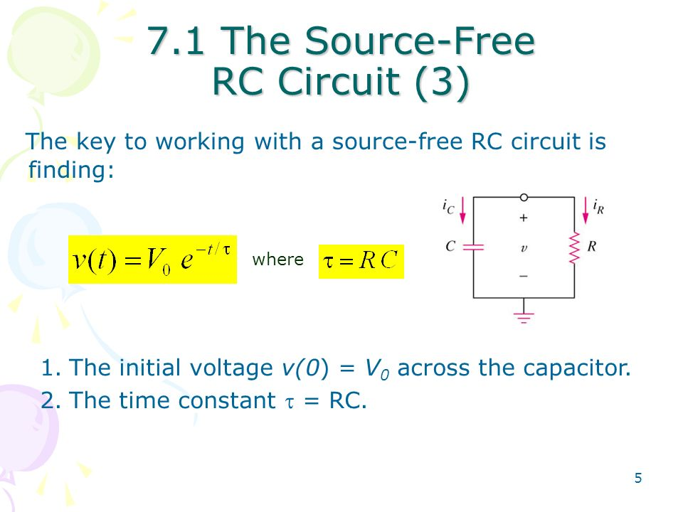 Chapter 7 First Order Circuits Ppt Video Online Download