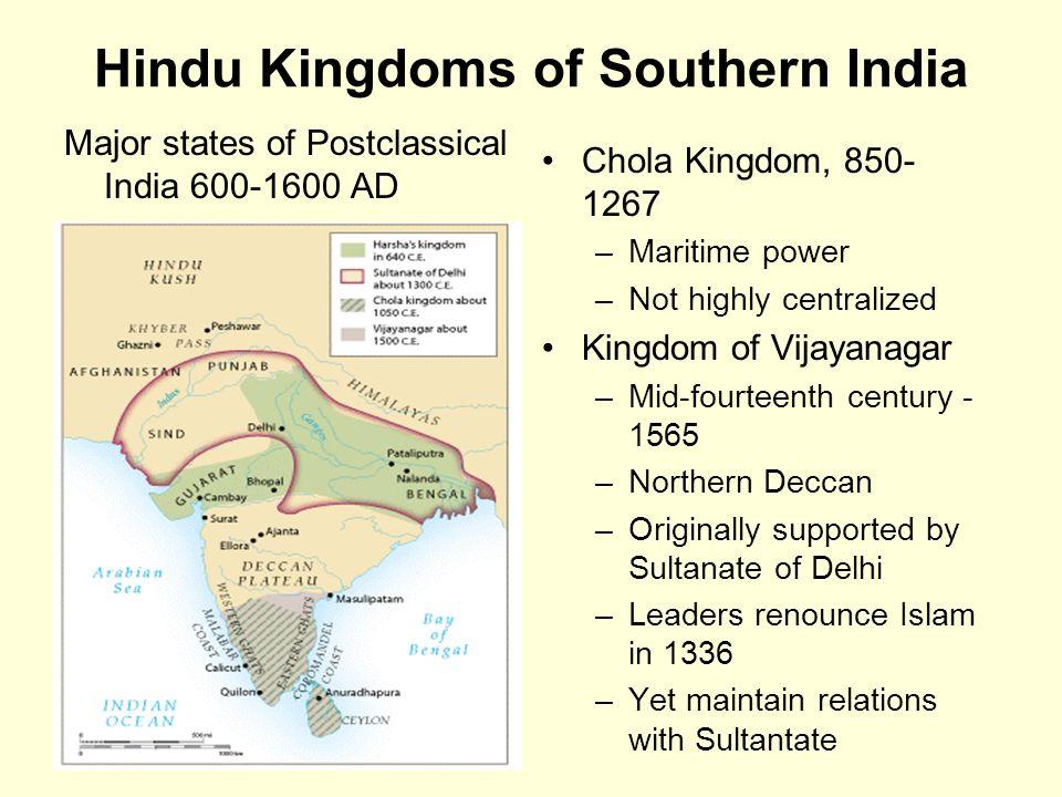 islamic and hindu kingdoms Mahmoud of ghazni, the jihadist who conquered the hindu kingdoms of north- western india, was admired for decorating islam's eastern.