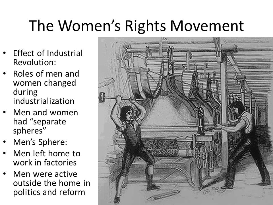 the industrial revolution changing role of Effects of the industrial revolution  the industrial revolution completely transformed the role of the family  in stark contrast to the various changing tasks .