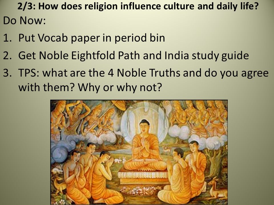 An analysis of the influence of religion in the korean culture