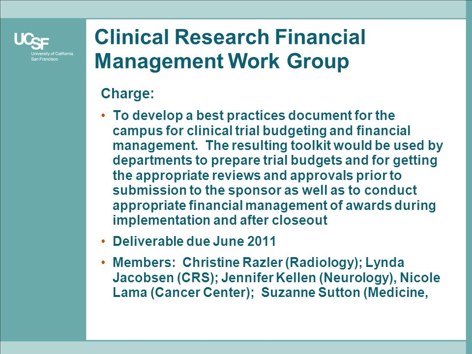 Clinical Research Infrastructure Initiative Status Ppt