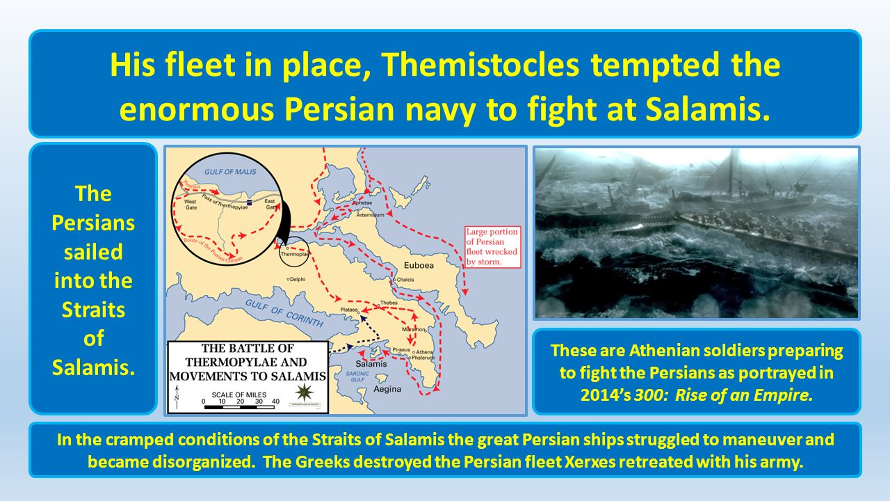 themistocles and the persian war essay Free essay: ----- to what extent was themistocles responsible for the greek victory in the persian wars daniel.