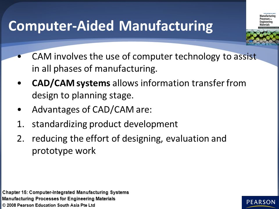 chapter 15 computerintegrated manufacturing systems