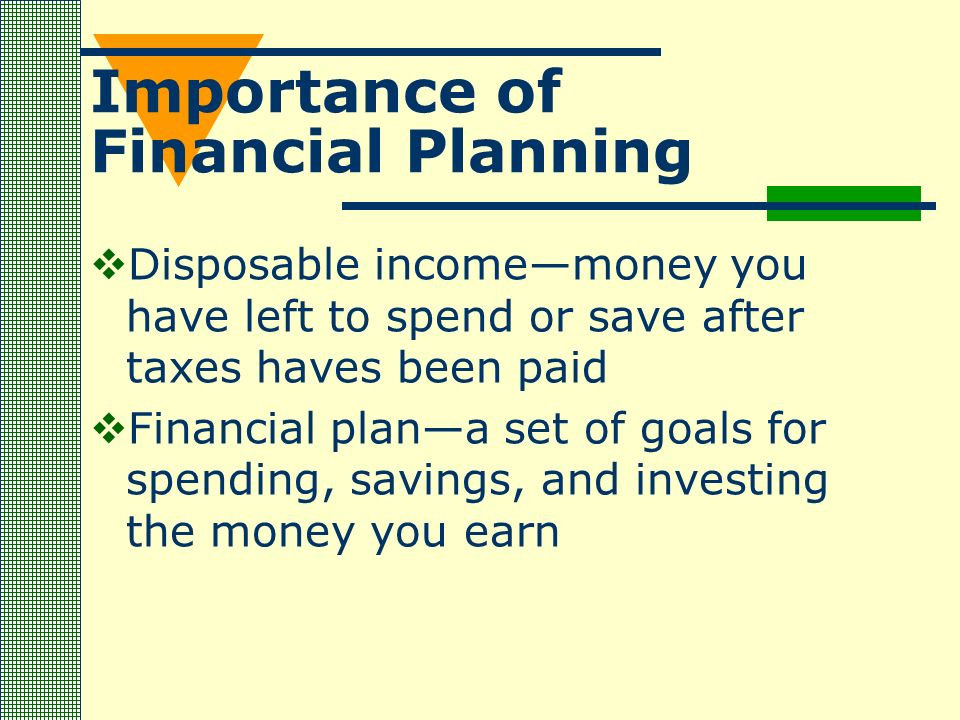 explain the importance of financial planning Financial management is also involved in planning the budget alongside the board of directors so that all necessary equipment, supplies and personnel can be procured to keep operations running smoothly.