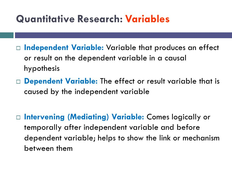 research paper with independent and dependent variables Research plan concept paper conduct and interpret an independent sample t variables in the analysis are split into independent and dependent variables.