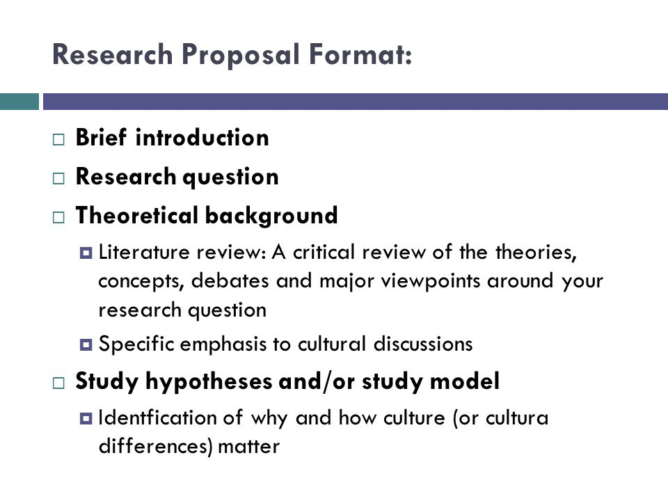 concept paper a research proposal and a research report