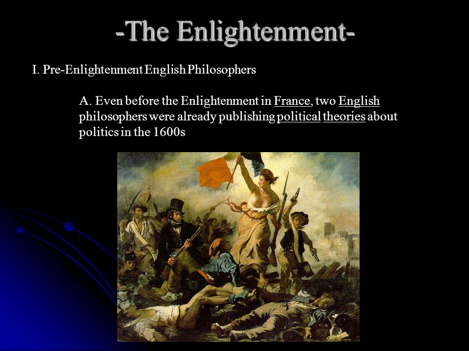 The scientific revolution and enlightenment ppt video online download the enlightenment i pre enlightenment english philosophers thecheapjerseys Images