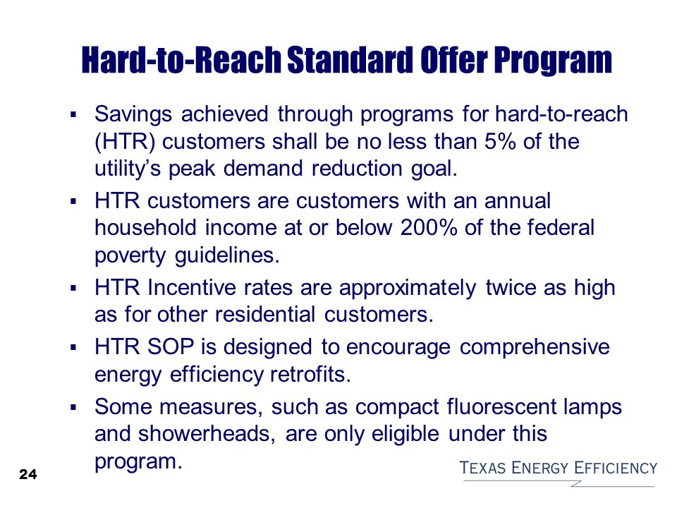 Sb 7 Energy Efficiency Programs Ppt Video Online Download