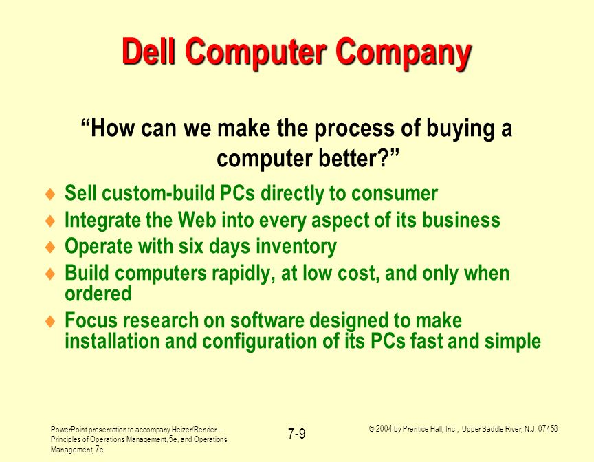 How can we make the process of buying a computer better