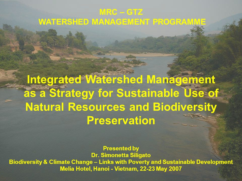 Preservation Of Natural Resources Ppt