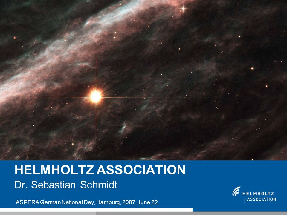 HELMHOLTZ ASSOCIATION